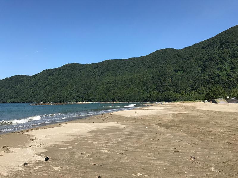 舞鶴『神崎浜海水浴場』ビーチ