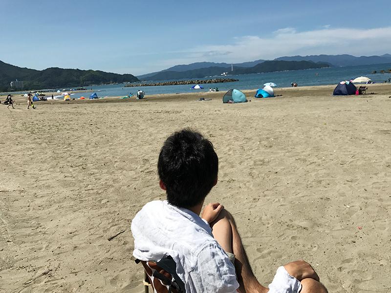 舞鶴『神崎浜海水浴場』