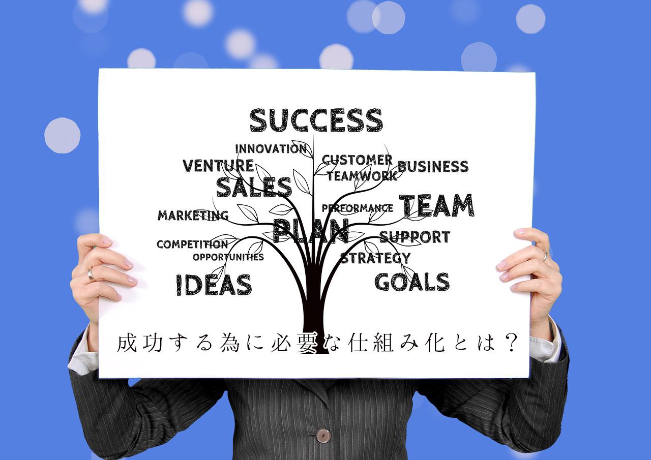 ビジネス拡大のための仕組み化とは